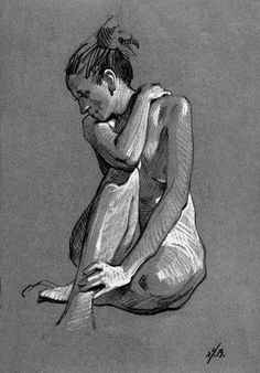 lovely figure drawing expertise | Garin Baker Fine Art