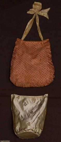 Augusta Auctions - Ladies' Reticules (Purses) 1790 - 1825