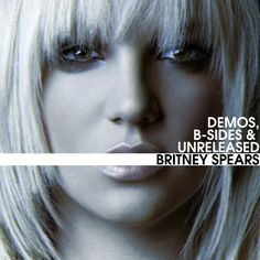 "Britney Spears ""Demos, B-sides "" Fan Made Album Art  Artist: Jeddman  #BritneySpears #AlbumArt"