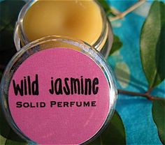 NEW Natural Wild Jasmine Solid Perfume by daisycakessoap on Etsy, 4.00 USD