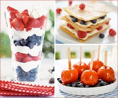 4th of July: Dessert Roundup (Take 1) By Hostess With the Mostess