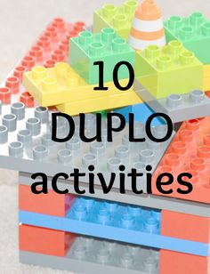 10 fun things to do with DUPLO