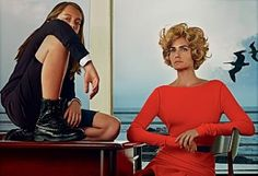 Mom Amber Valletta shot by Steven Klein | For Those About To Shop