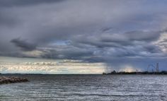 Brian Gray Photography: Storm Over Cedar Point....