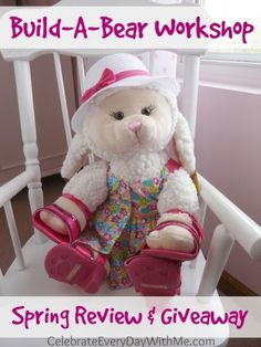 Enter to win a $25 Gift Card for Build-A-Bear Workshop!  We love that place!