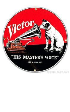 RCA Victor & Nipper Sign