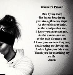 Runner Prayer