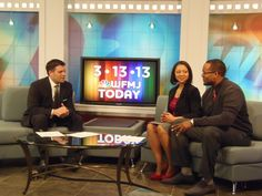 WFMJ Today's Mike Case with wedding finalist Danielle and Nouri.