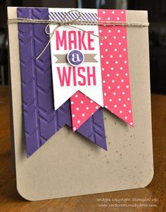 Stampin' Up! Birthday by Card Creations by Beth