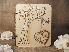 wedding guest book, anniversary, guest books, food, engagements, wedding guests, rustic chic weddings, book wood, bridal showers