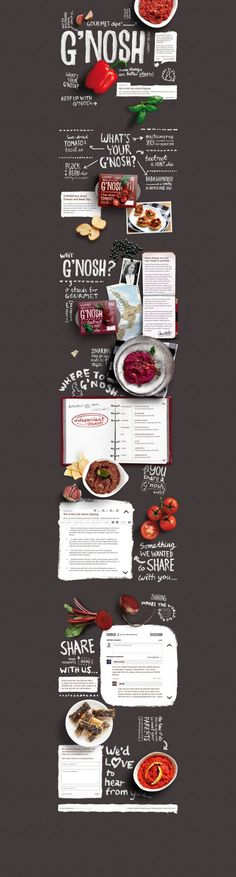 Layout   via RedBird Paperie #webdesign ★ Find more at http://www.pinterest.com/competing/ graphic design, webdesign, gnosh, foods, web design, layout, inspir, hand drawn, website designs