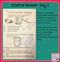 Daily Science Review (Test Prep in Minutes!)