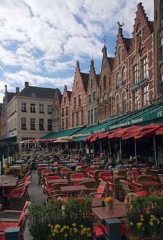 Marktplatz, Bruges, Belgium