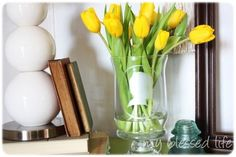 DIY Frosted Silhouette Vase