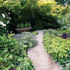 Herb garden border....