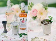 Sugar and Charm — Mint Juleps Recipe.