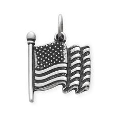 Today is Flag Day. Show your pride with our American Flag Charm. #charms