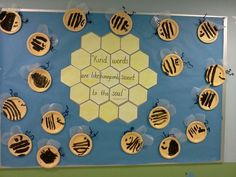 "honeycomb bulletin board ideas | Kind words are like honeycomb, sweet to the soul."" Proverbs 16:24 The ..."