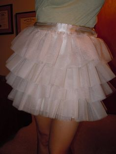 How to make your own Carrie tutu skirt