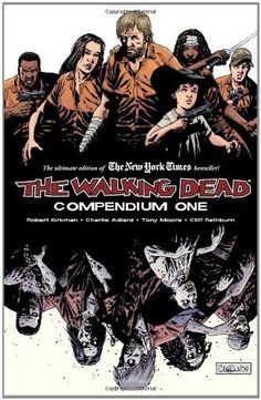 The Walking Dead:  Compendium One: http://www.amazon.com/The-Walking-Dead-Compendium-One/dp/1607060760/?tag=sewofrho-20