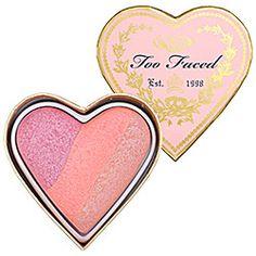 A Valentine-shaped blush. Sephora
