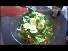 Eisberg Salad (video) Cum faci o salata Eisberg cu paste si peste
