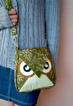 owl messenger bag