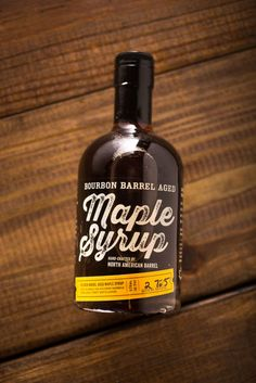 Bourbon Barrel Aged Maple Syrup on BourbonandBoots.com #bourbon #maplesyrup #breakfast