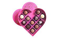 Heart Box with 12 Artisan Truffles $26.95