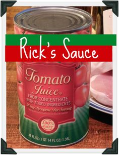My hubby is Italian.  He knows his sauce.  Here's his secret.  You won't believe it until you try it.  (married 20 years to this man)