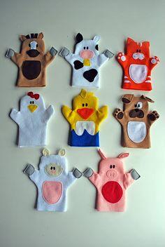 FREE DIY Puppet Patterns.