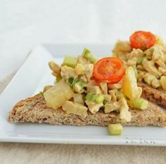 Tempting Tempeh Sandwiches #vegan