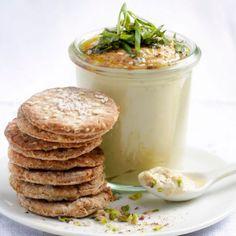 Houmous de pistache,