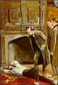 Sherlock Holmes / The Adventure of the Abbey Grange - Sidney Paget