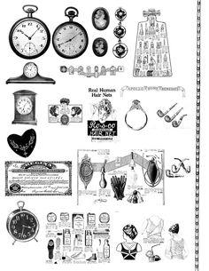 Free Digital Collage Sheet