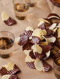 Chocolate Covered Potato Chips / Spoon Fork Bacon