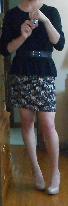 Is my new skirt cute? I can't tell... - Imgur