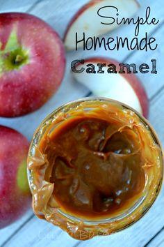 Simple Homemade Caramel