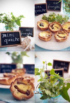 Quiche with mushrooms #quiche #mushrooms