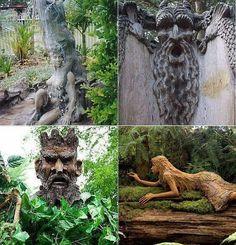 Tree sculptures pic.twitter.com/ySjyi0WAj8