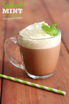 Mint Spiked Hot Choc