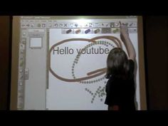 Cool Tricks on the Smart Board - this kid explains how to do some little known shortcuts on the board!