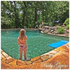 backyard pool dreaming
