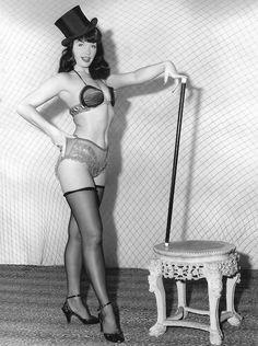 Betty Page.