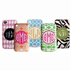 Clairebella Personalized iPhone Cases or Blackberry Cases, $55