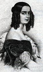 Isabel Maria de Alcântara Brasileiro (1824 - 1898). Daughter of Pedro IV of Portugal and Domitila de Castro.