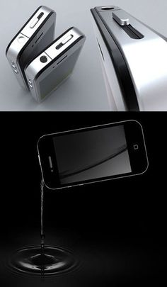 iphone flask ... this is the most brilliant thing I've seen