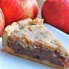Apple Crumble Pie -