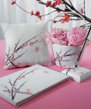 Weddingstar Cherry Blossom Wedding Accessories Collection