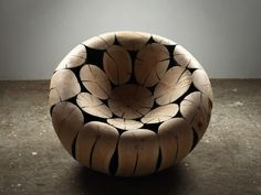 pine and chestnut chair ~ lee jae-hyo